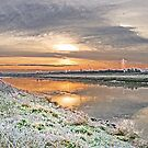 Frosty Morning Down River, by AnnDixon
