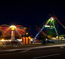 Rye Carnival 2010 Hurricane ride and Pirate Ship by RyePixels