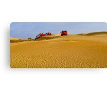 Dune-bashing Canvas Print