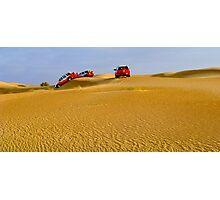 Dune-bashing Photographic Print