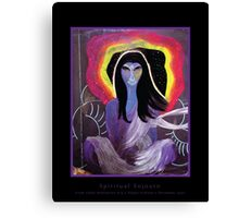 Spiritual Sojourn • December 2007 Canvas Print