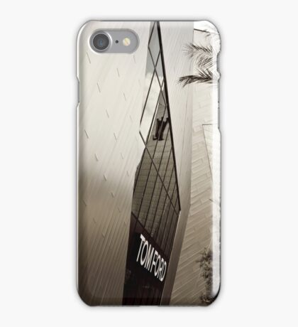 Tom Ford Menswear Shop in Vegas  2 - Black and White 2 iPhone Case/Skin