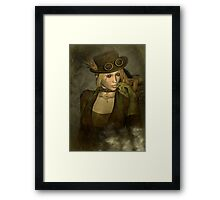 Chardonnay - Steampunk Supermodel Framed Print