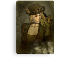 Chardonnay - Steampunk Supermodel Canvas Print