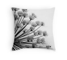 Winter Hogweed Throw Pillow