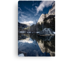 Mirror Mirror - Mirror Lake, Yosemite National Park Canvas Print