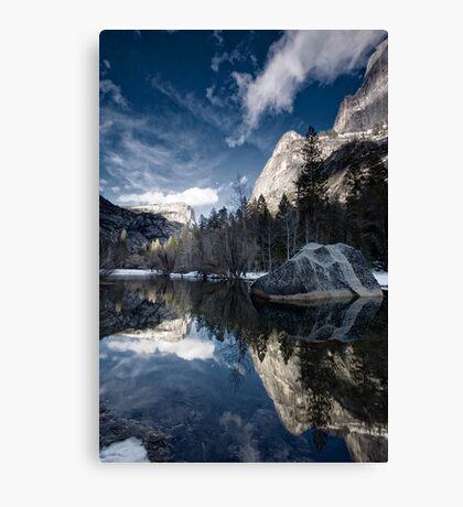 Mirror Mirror - Mirror Lake, Yosemite National Park Canvas Print