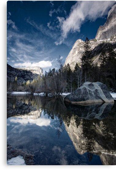Mirror Mirror - Mirror Lake, Yosemite National Park by Michael Chong