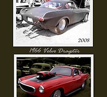 "1966 Volvo Dragster ""Yearly Difference"" by TeeMack"