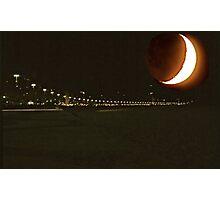 Moons at Rio de Janeiro 1       Brazil Photographic Print