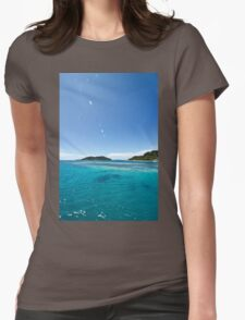 Mananuca islands, Fiji Womens Fitted T-Shirt