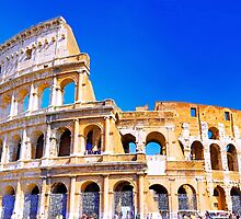 Rome, Italy - The Colosseum by Mynameisparrish