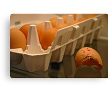 Bad Egg, Great Pancakes! Canvas Print