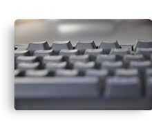a keyboard to explore the world Canvas Print