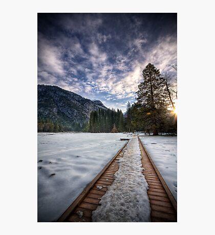 Beautiful Journey - Yosemite National Park Photographic Print