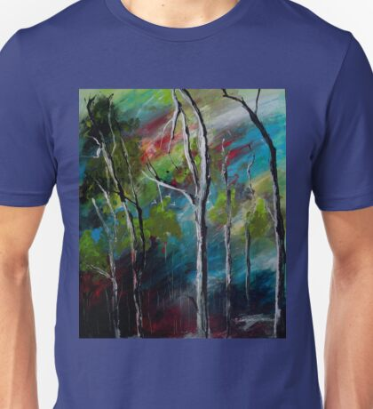 """""""Where the Cockatoos Fly"""" Painting of Australian bushland T-Shirt"""