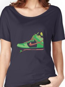 Bal-ang! Yoshi got dunks. Women's Relaxed Fit T-Shirt