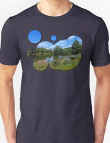 At the fairytale pond | waterscape photography T-Shirt