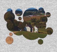 Beautiful traditional farmland scenery | landscape photography Baby Tee