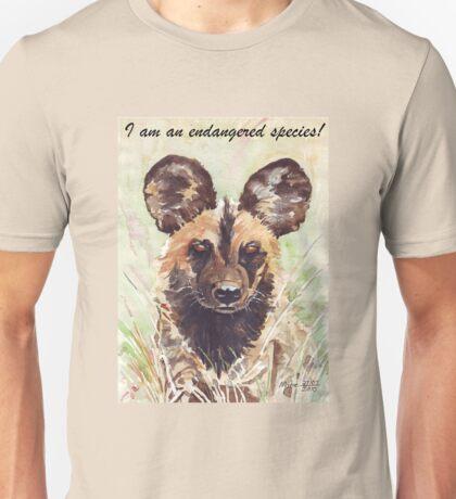 I am an endangered species! Unisex T-Shirt