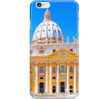Rome, Italy - St Peters Basilica iPhone Case/Skin