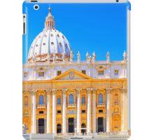 Rome, Italy - St Peters Basilica iPad Case/Skin
