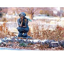 Pondering Photographic Print