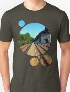 Haslach railway station | architectural photography T-Shirt