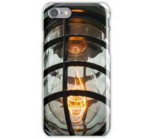 Edison industrial light iPhone Case/Skin