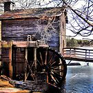 Stone Mountain Grist Mill Revisited by Janie Oliver
