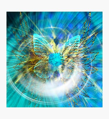 Love is like a butterfly-Abstract  Art + Products Design, apparel Photographic Print