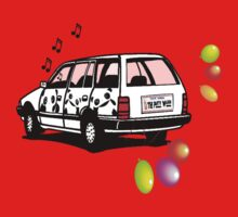 The Party Wagon Baby Tee