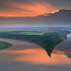 River Split by Igor Zenin