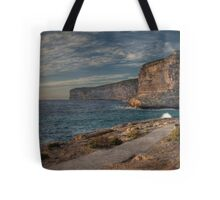 Path out of Rough Seas Tote Bag