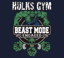 Hulks Gym - Beast Mode Engaged Kids Clothes