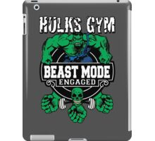 Hulks Gym - Beast Mode Engaged iPad Case/Skin