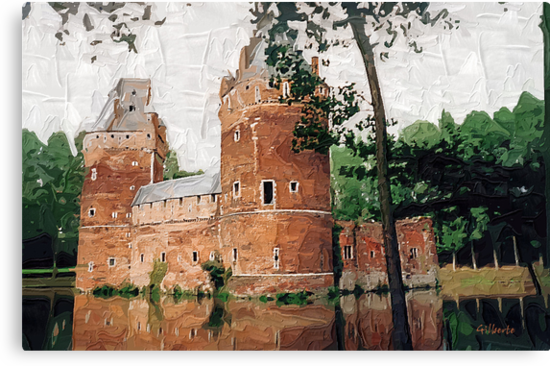 Beersel Castle - Belgium by Gilberte