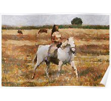 Riding through the Fields  Poster