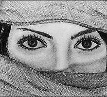 Arabian Eyes ~` by LovETeaR