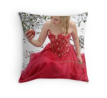 She Lives In A Fairytale 01 Throw Pillow