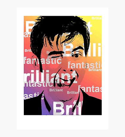 David Tennant Photographic Print