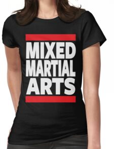 Mixed Martial Arts Womens Fitted T-Shirt