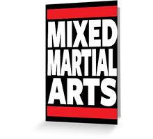 Mixed Martial Arts Greeting Card