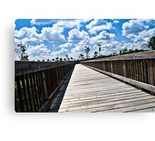 Long Nature Boardwalk Canvas Print