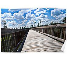 Long Nature Boardwalk Poster