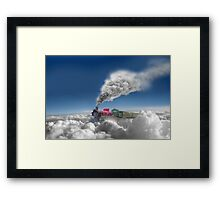 Sky Express Framed Print