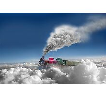 Sky Express Photographic Print