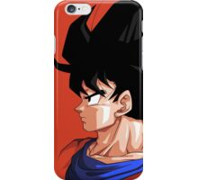 Profile of Goku - Dragon Ball iPhone Case/Skin