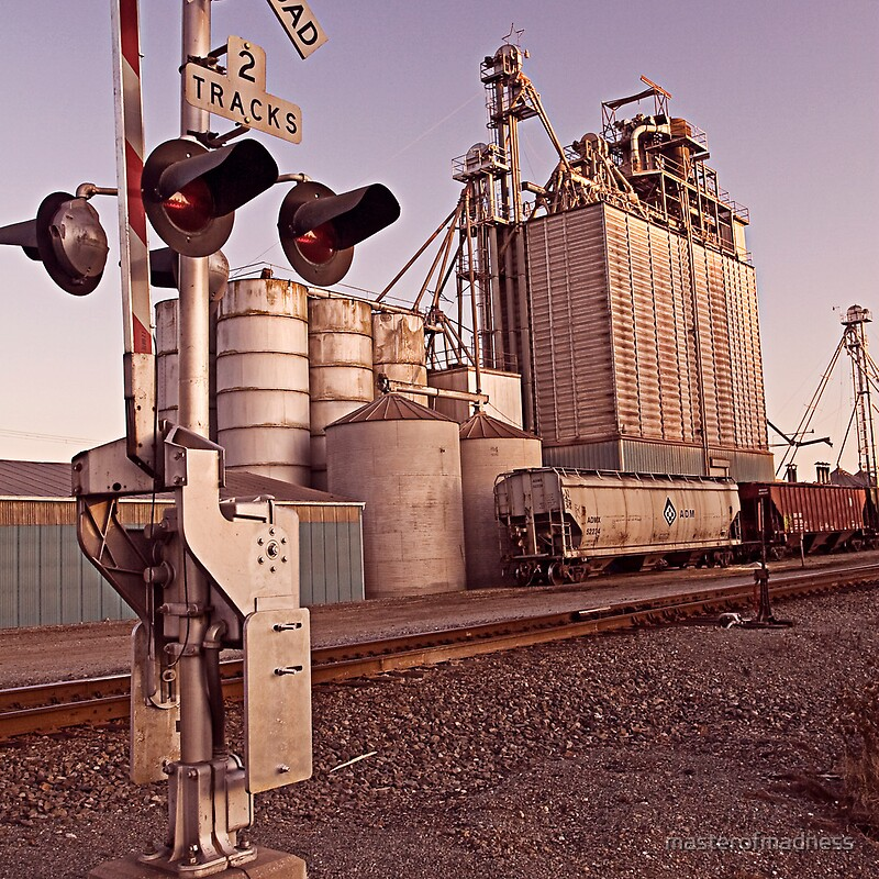 Conway wa grain elevator by masterofmadness redbubble for T shirts by design anacortes