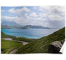 Unspoiled Beaches of St. Kitts Poster